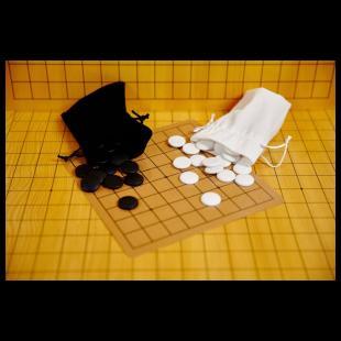 Zestaw do gry w Go dla początkujących (9x9)